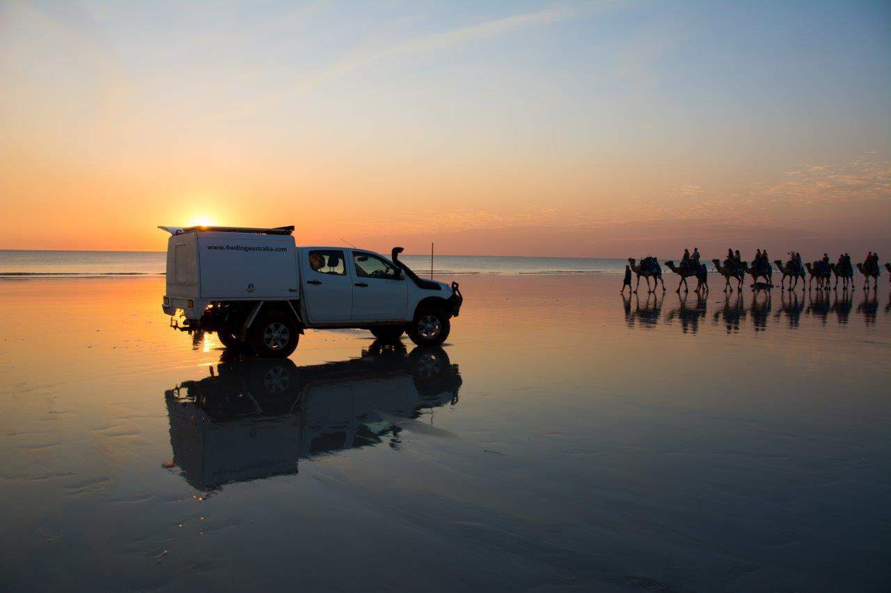 Perth to Broome's Cable Beach