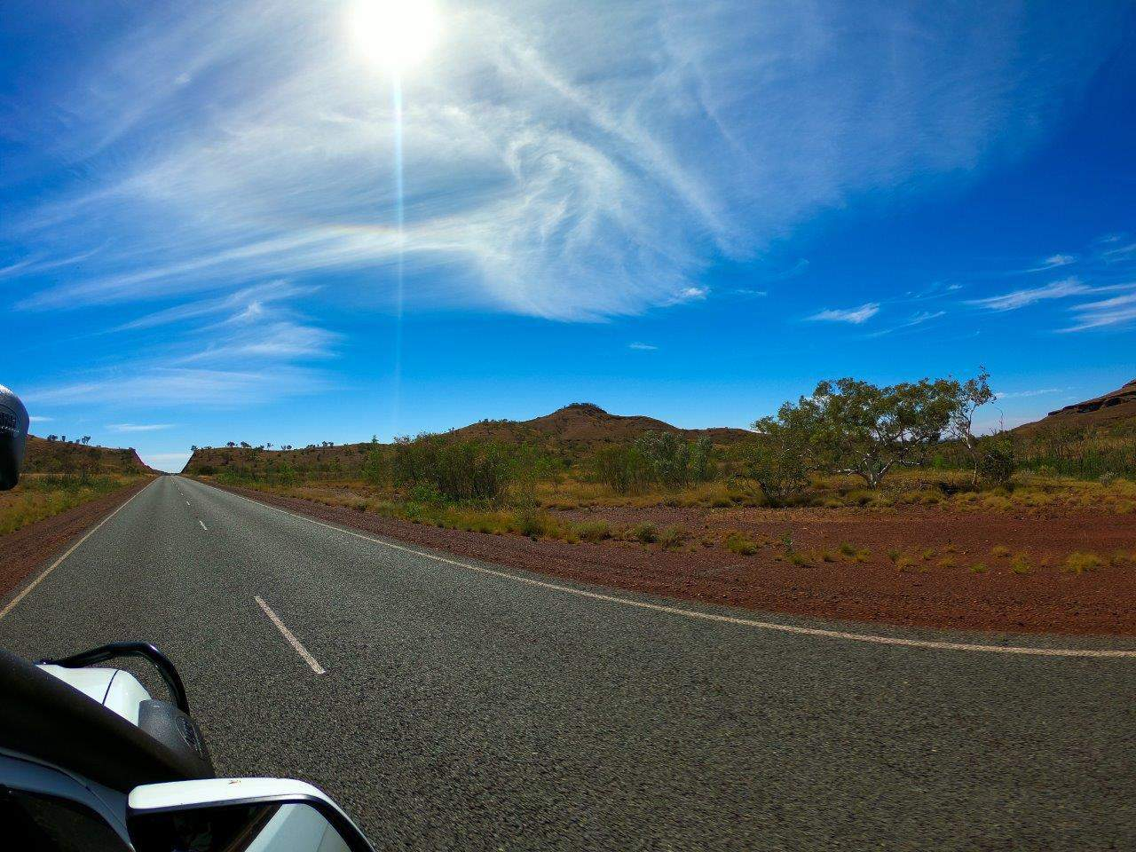Driving to Broome