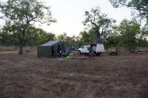 Bush camping with 4WDing Australia