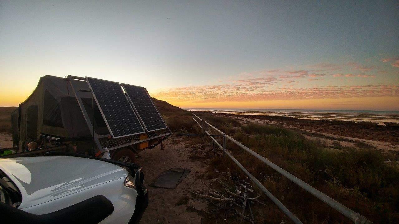 Sunset in the Pilbara