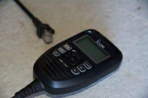 ICOM UHF radio