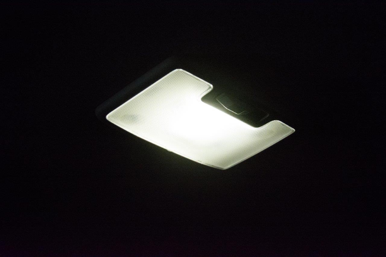 Dmax LED interior light upgrade