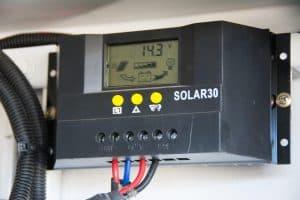 12V solar panel regulator