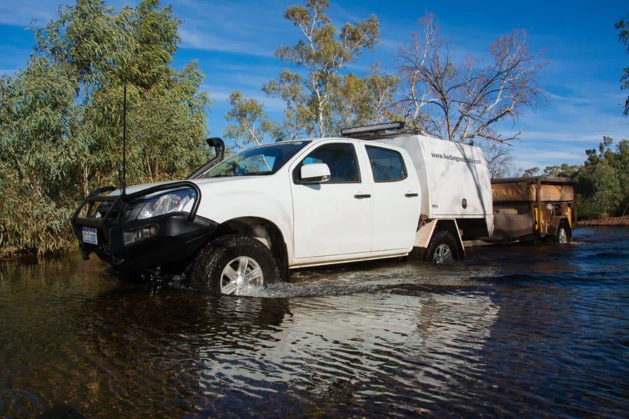 Kalgans Pool 4WD Track