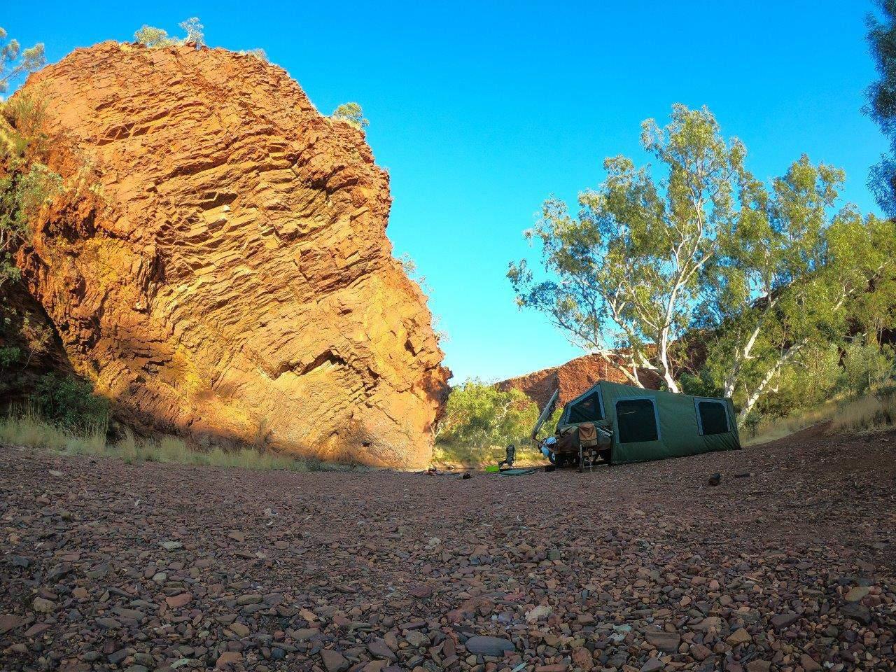Newman camping