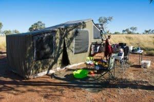 Larrawa Station camping