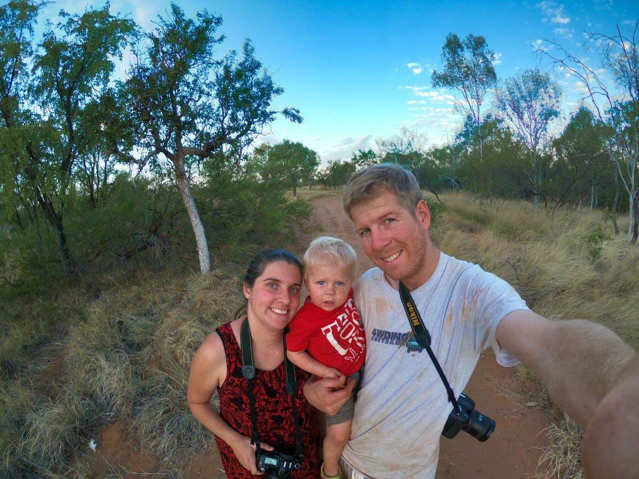 4WDing Australia family