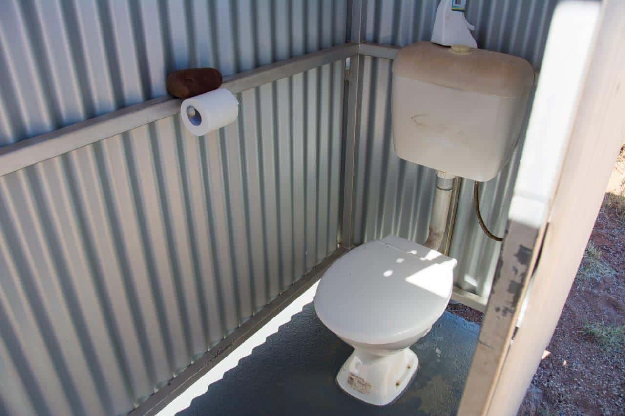 Larrawa camping toilets