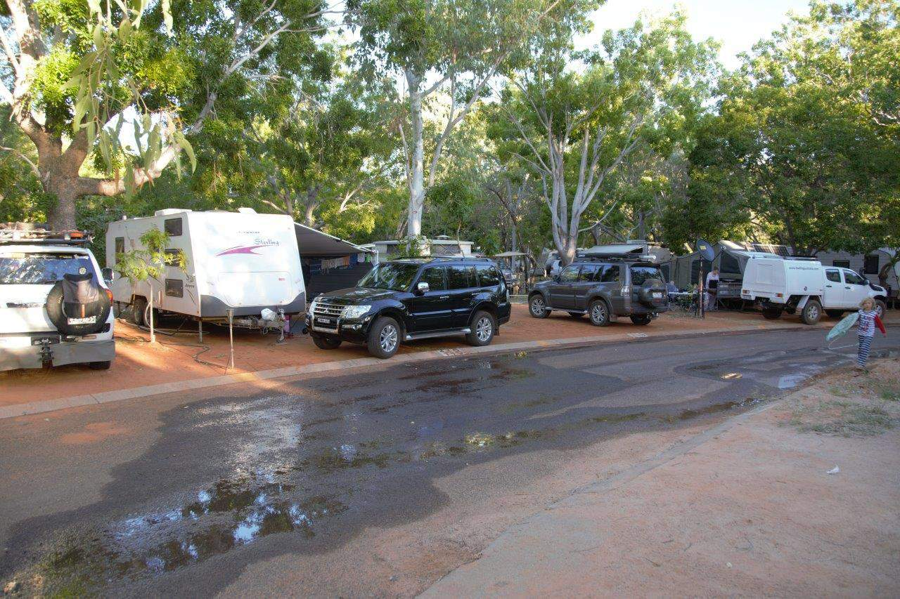 Cable Beach Caravan Park sites