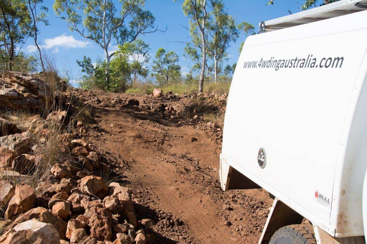 4WD tracks in the Northern Territory