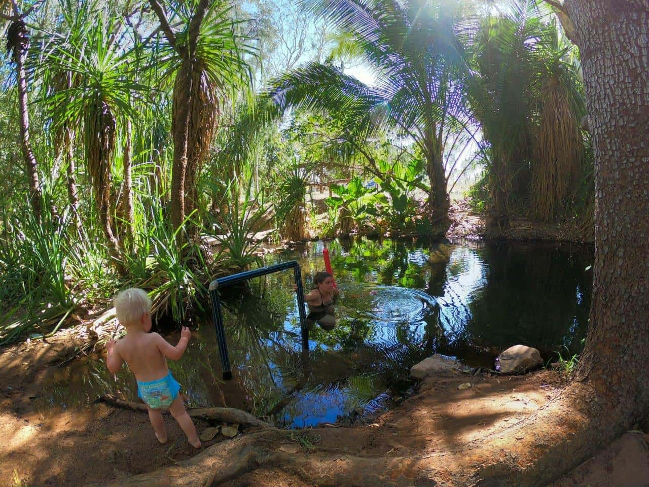 Magical Hot Springs at Lorella