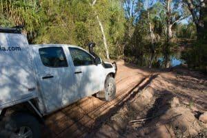 Water crossings in the NT