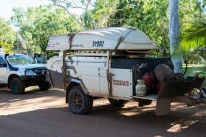 Complete Campsite camper trailer
