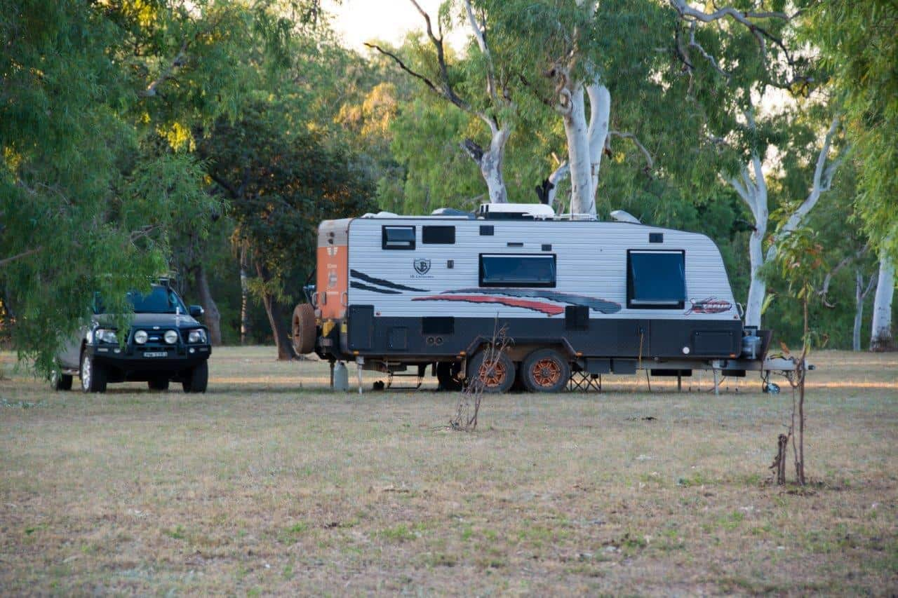 Fuel economy towing a caravan