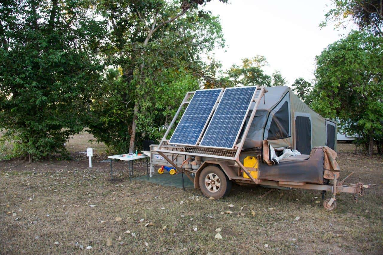 Camper Trailer Boat Loader Solar Panel System