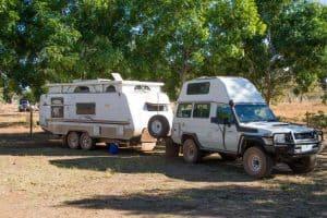 Caravan setup times