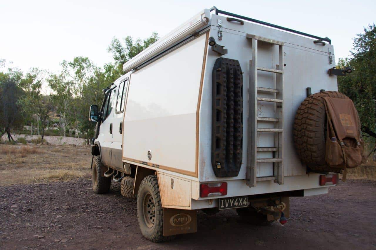 Truck for touring