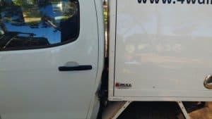 Fuel filler damage