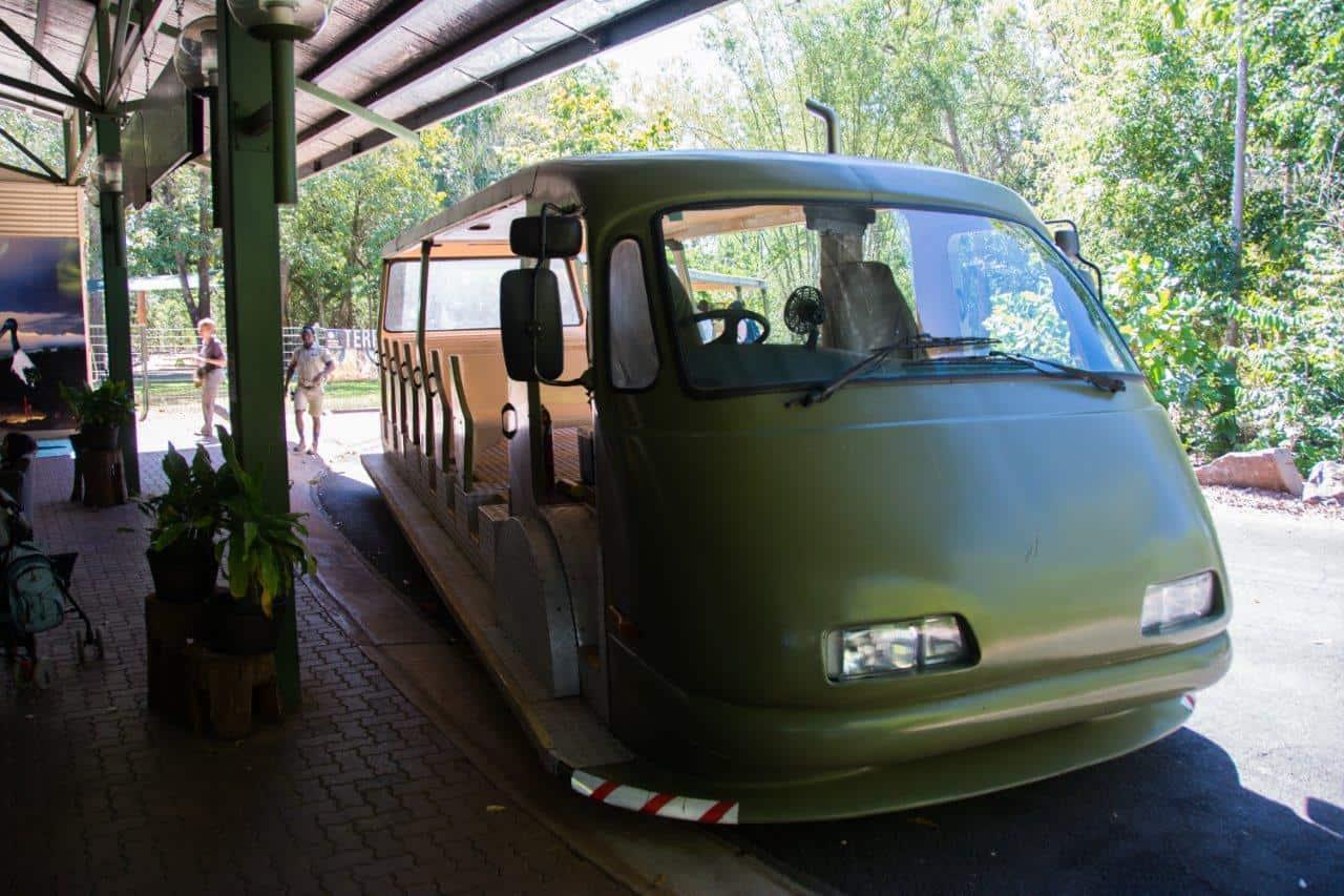 Territory Wildlife Park transport
