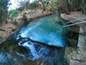 Enjoying Katherine Hot Springs