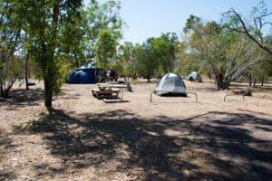 Jim Jim Falls camping