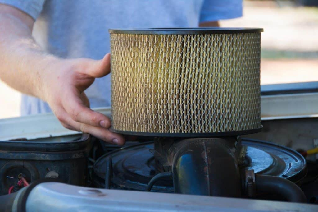Air filter on your 4WD