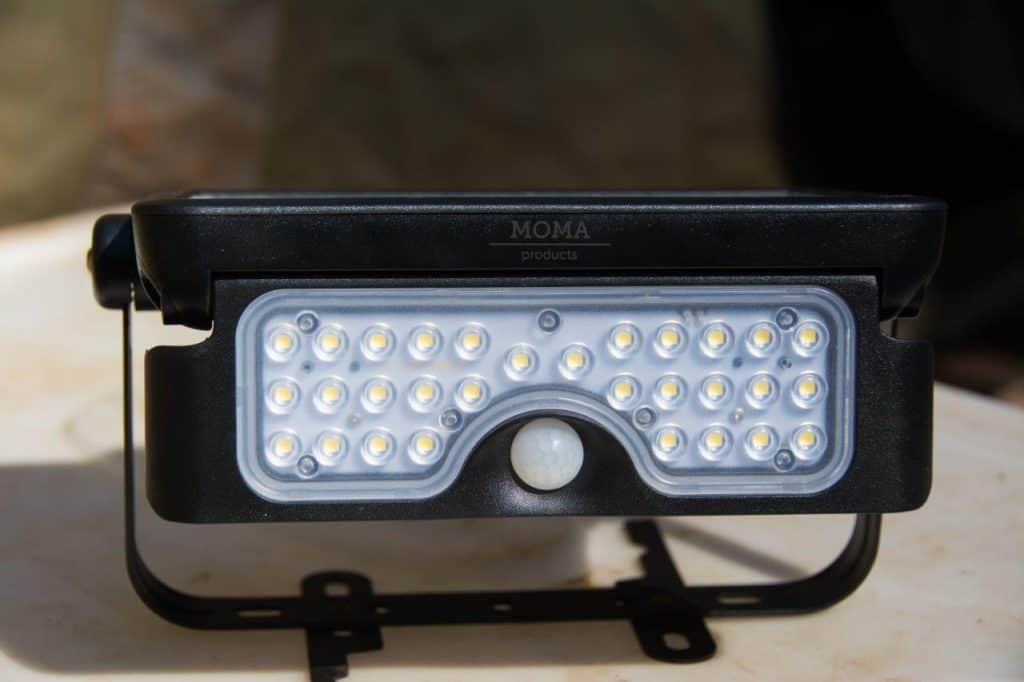 Motion sensor camping light
