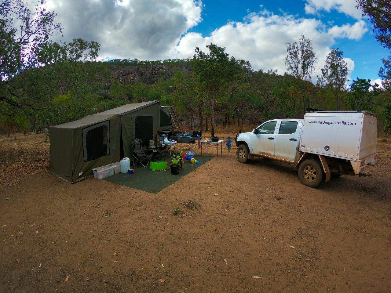 Camping in Kakadu