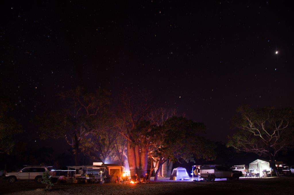 Kimberley camping
