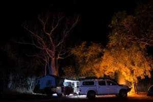 Camping in the Kimberley
