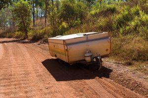 Camper trailer broken