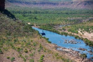 Helicopter tours in the Kimberley