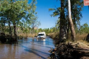 Water crossings in the Kimberley