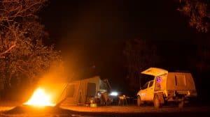 Koolpin camp fire