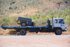 Gibb River Road vehicle recovery