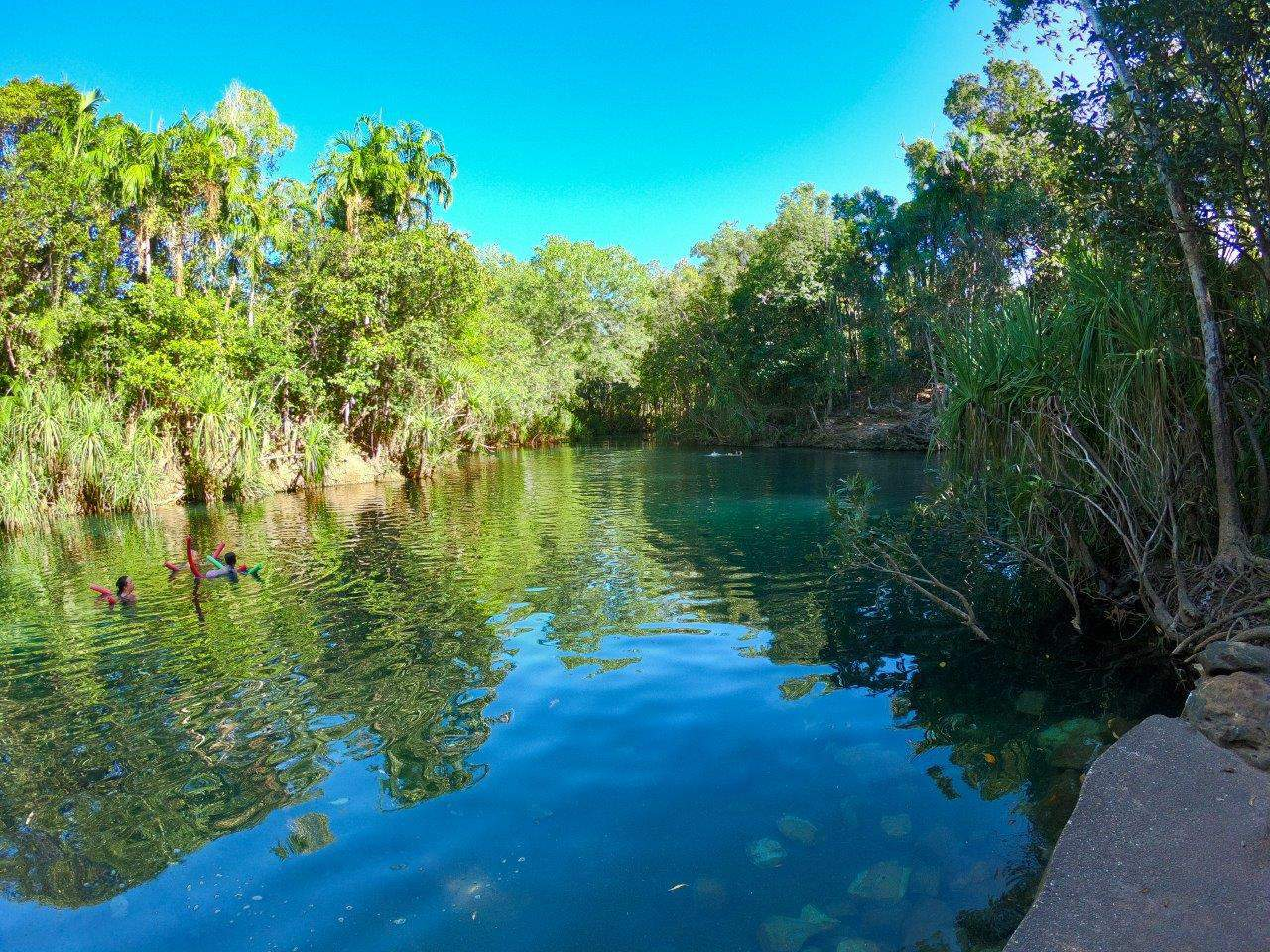 Berry Springs in Darwin