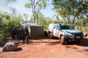 Camping at Litchfield