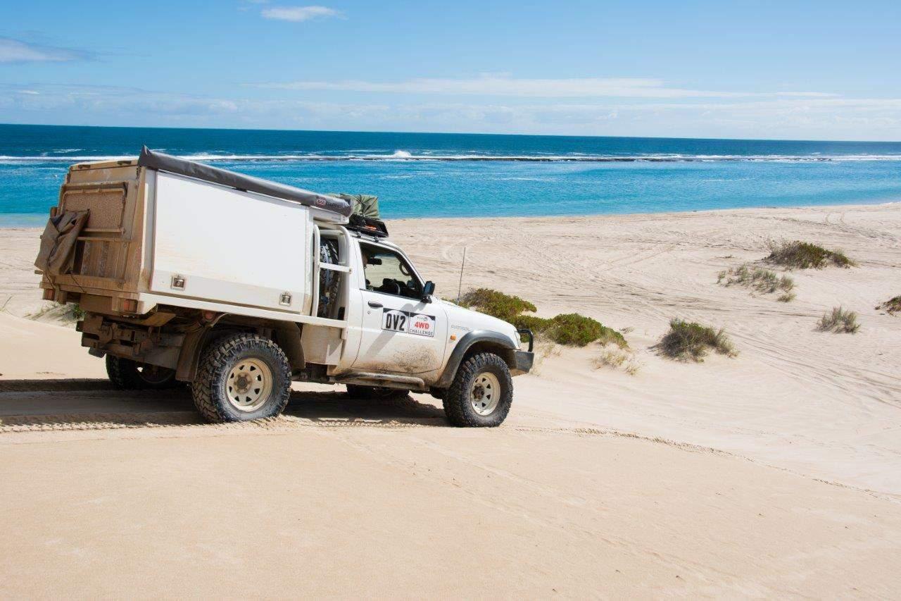 Lucky Bay Kalbarri 4WD