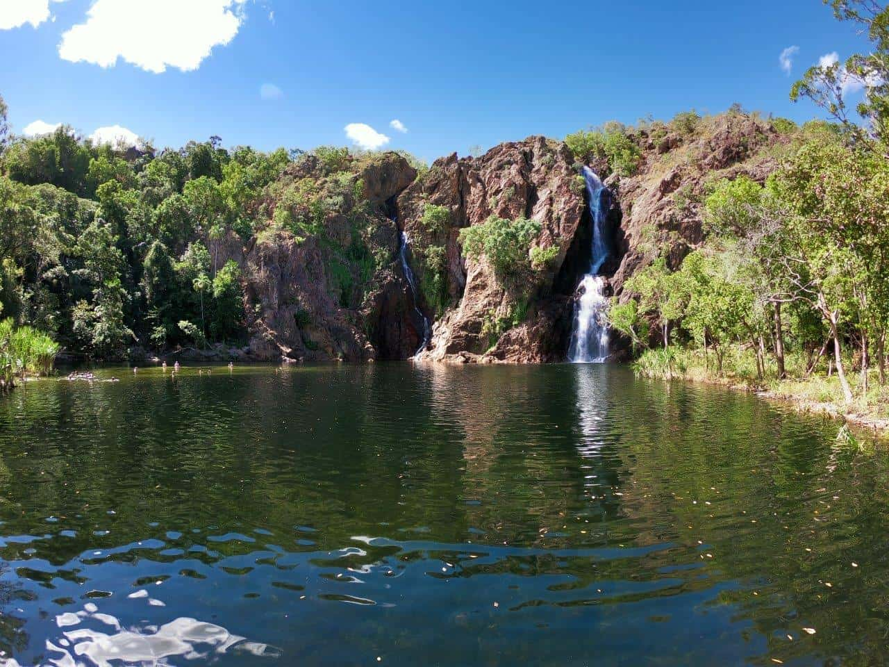 Wangi Falls at Litchfield