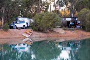 Camping close to Perth