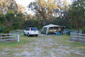 Yanchep Lagoon Camping