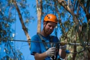 Trees adventure lanyards