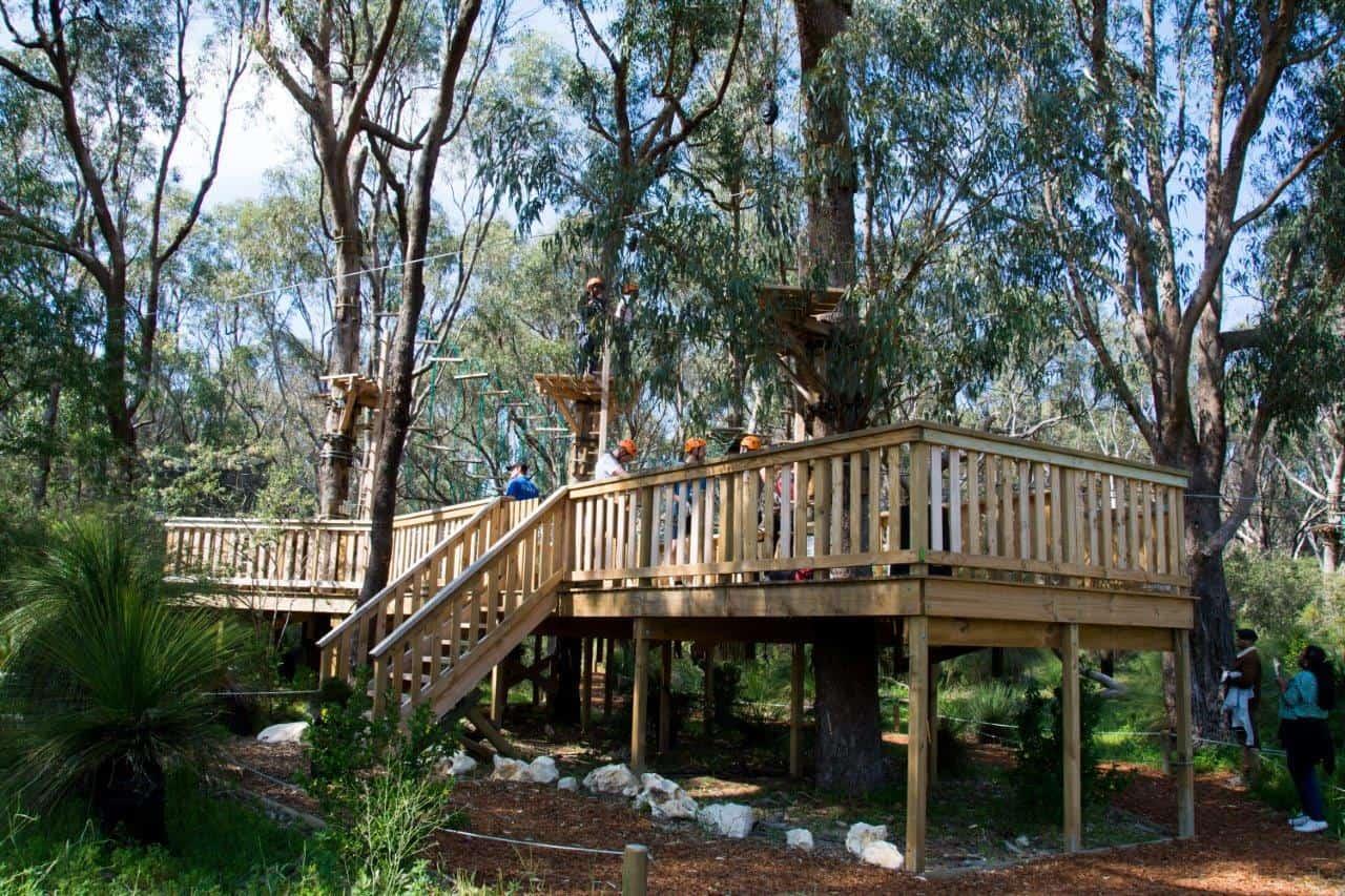 Yanchep Adventure Trees Course
