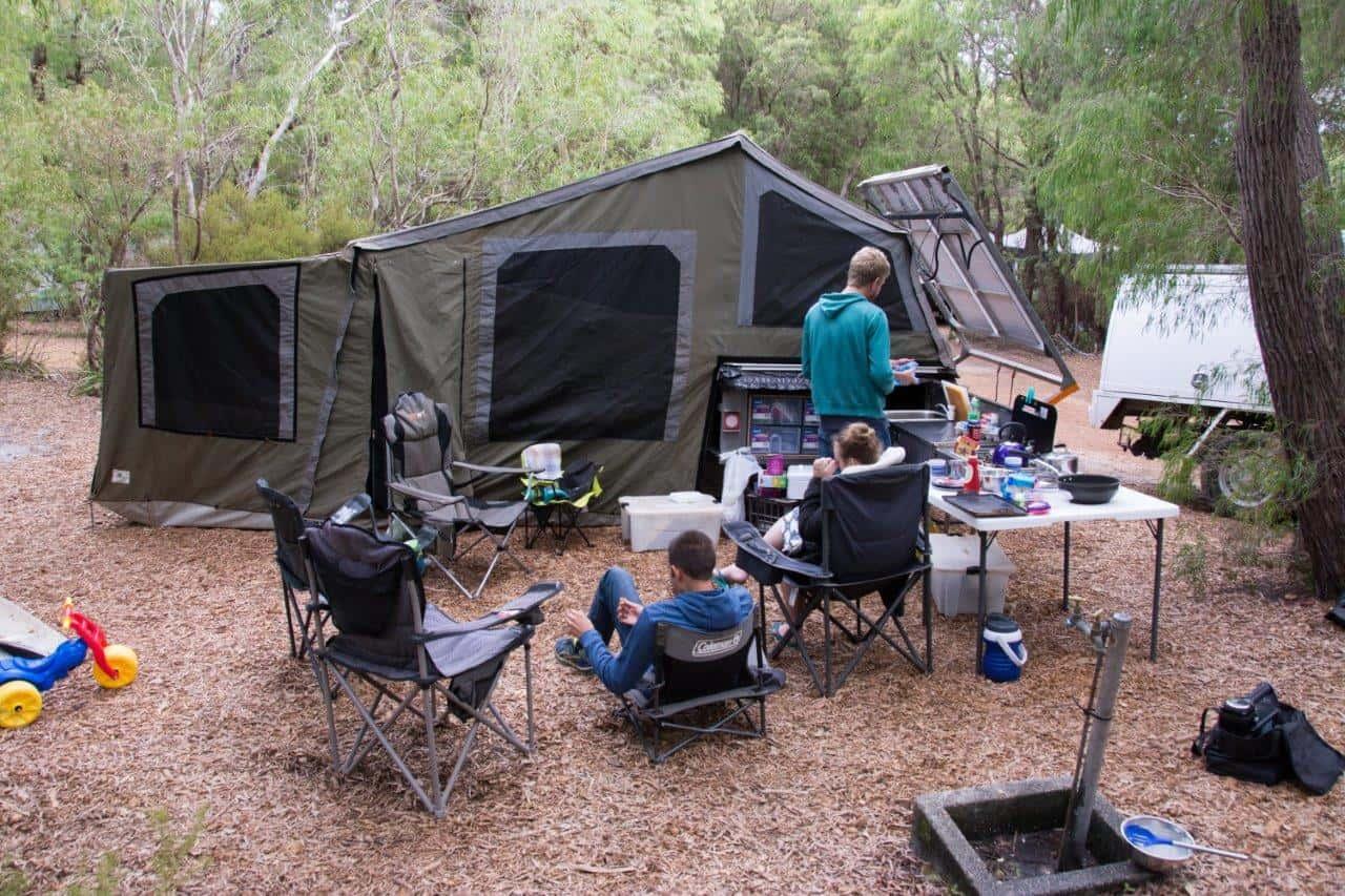 Coalmine Beach Holiday Park camping