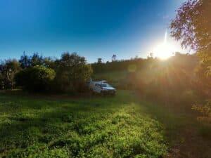 Private camping near Perth