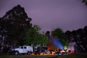 Camping at Fonty's Pool