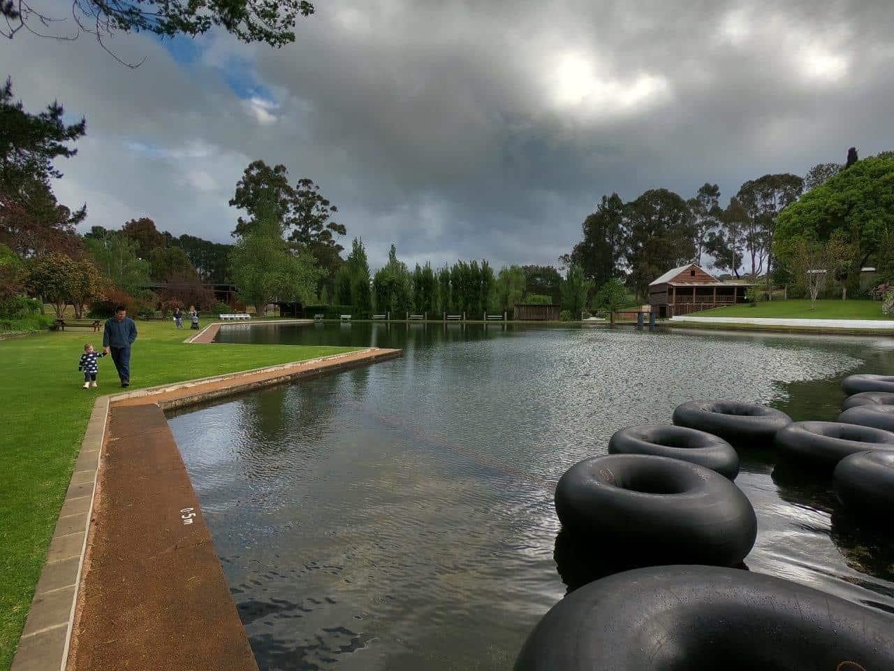 Tubes at Fonty's Pool