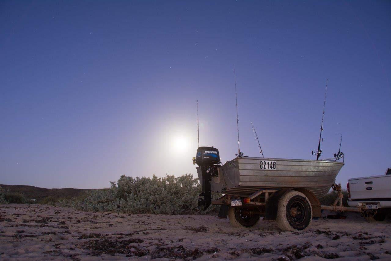 4WD boat trailer