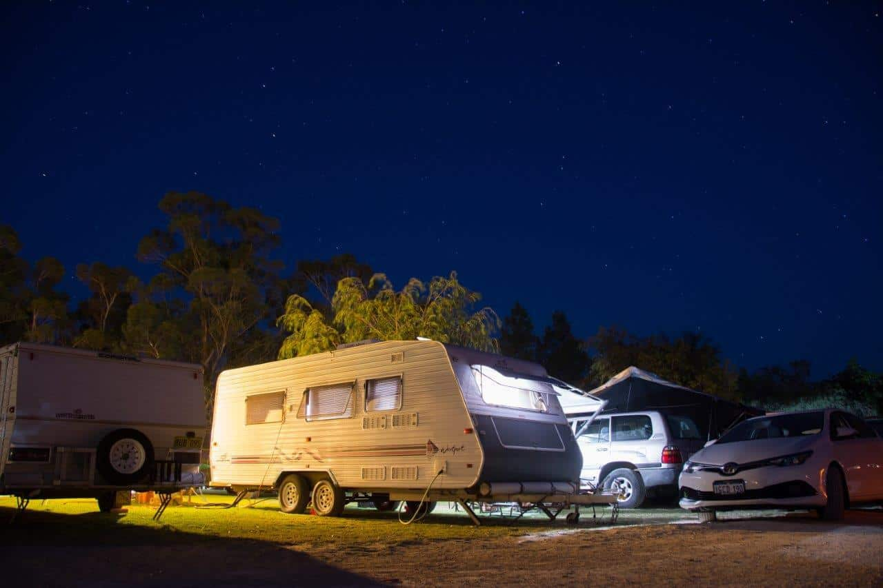 Camping near Perth at Willowbrook Farm