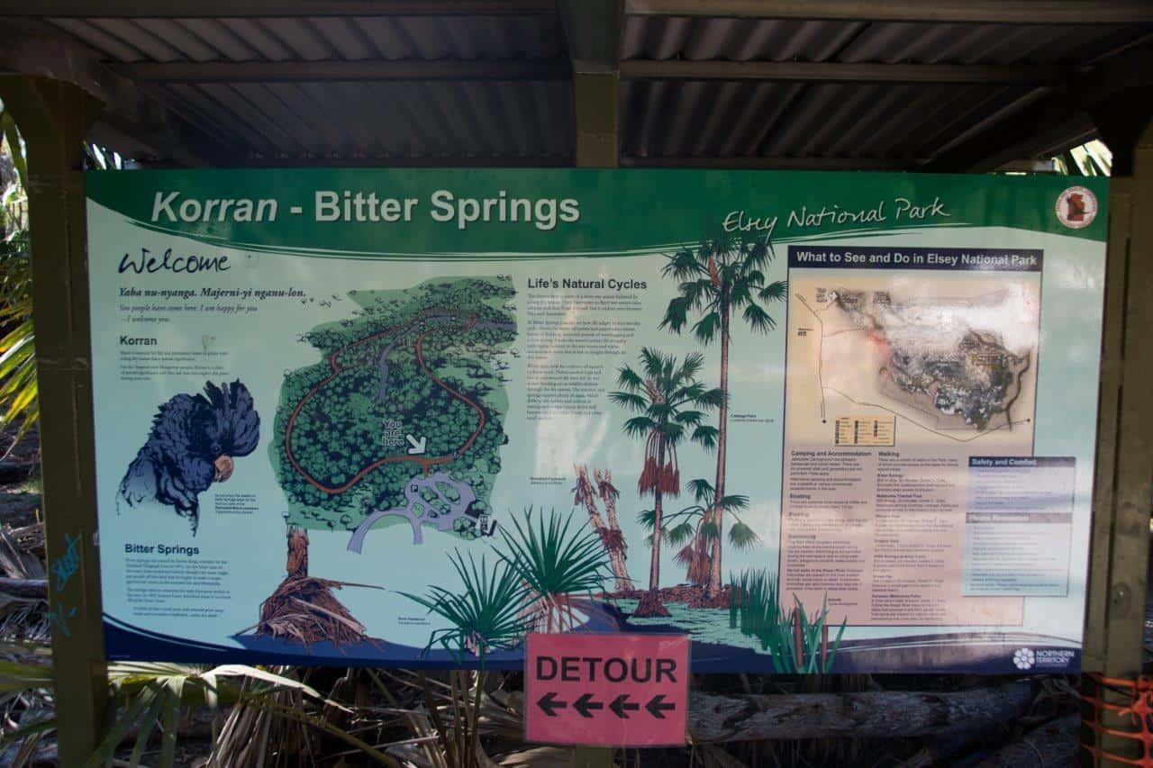 Bitter springs sign